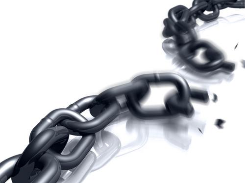Broken chain